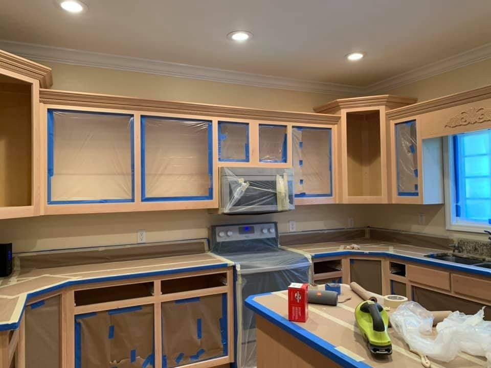 Cabinet painting rochester ny