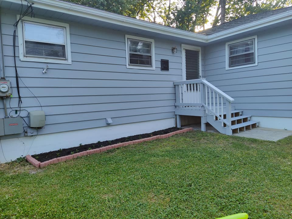 House Siding Painting